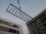 ein Dach mit 9 Meter Spannweite